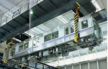 地下鉄車両の組成